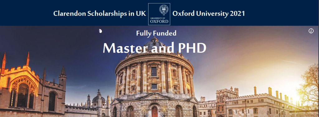 Clarendon Scholarships in UK Oxford University 2021 Fully ...